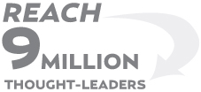 Reach 9 Million Thougth-Leaders