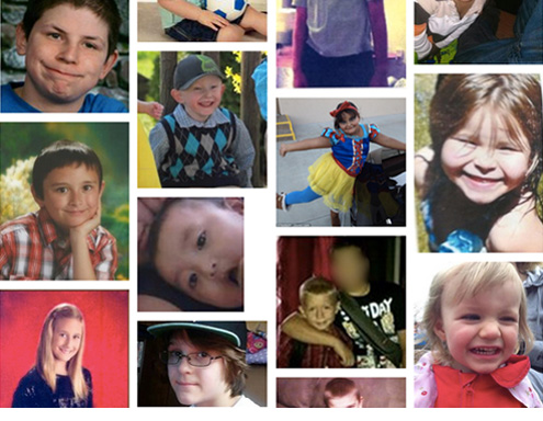 child victims of gun violence