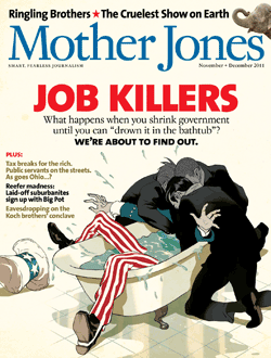 Mother Jones September/October 2011 Issue