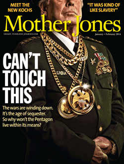 Mother Jones January/February 2014 Issue