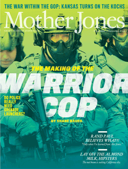 Mother Jones November/December 2014 Issue