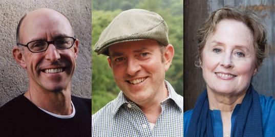 Michael Pollan, Tom Philpott, Alice Waters